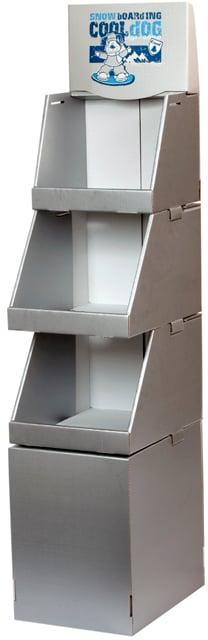 Box-teline muodostuu erillisistä pinottavista laatikoista. Modulaarinen rakenne (puppusana bongattu) takaa onnistumisen. Joopa joo.