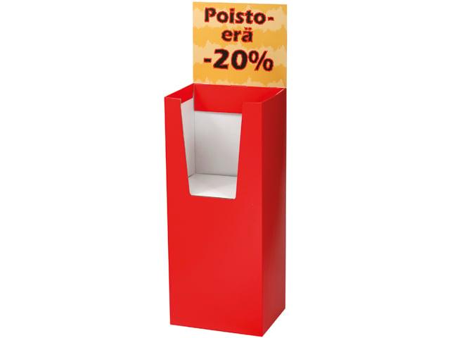Jos tarjous ei vedä väkeä, on syy Tarjousteline Dispencein puute! Osta Dispencer ja myy tuotteesi vauhdilla.
