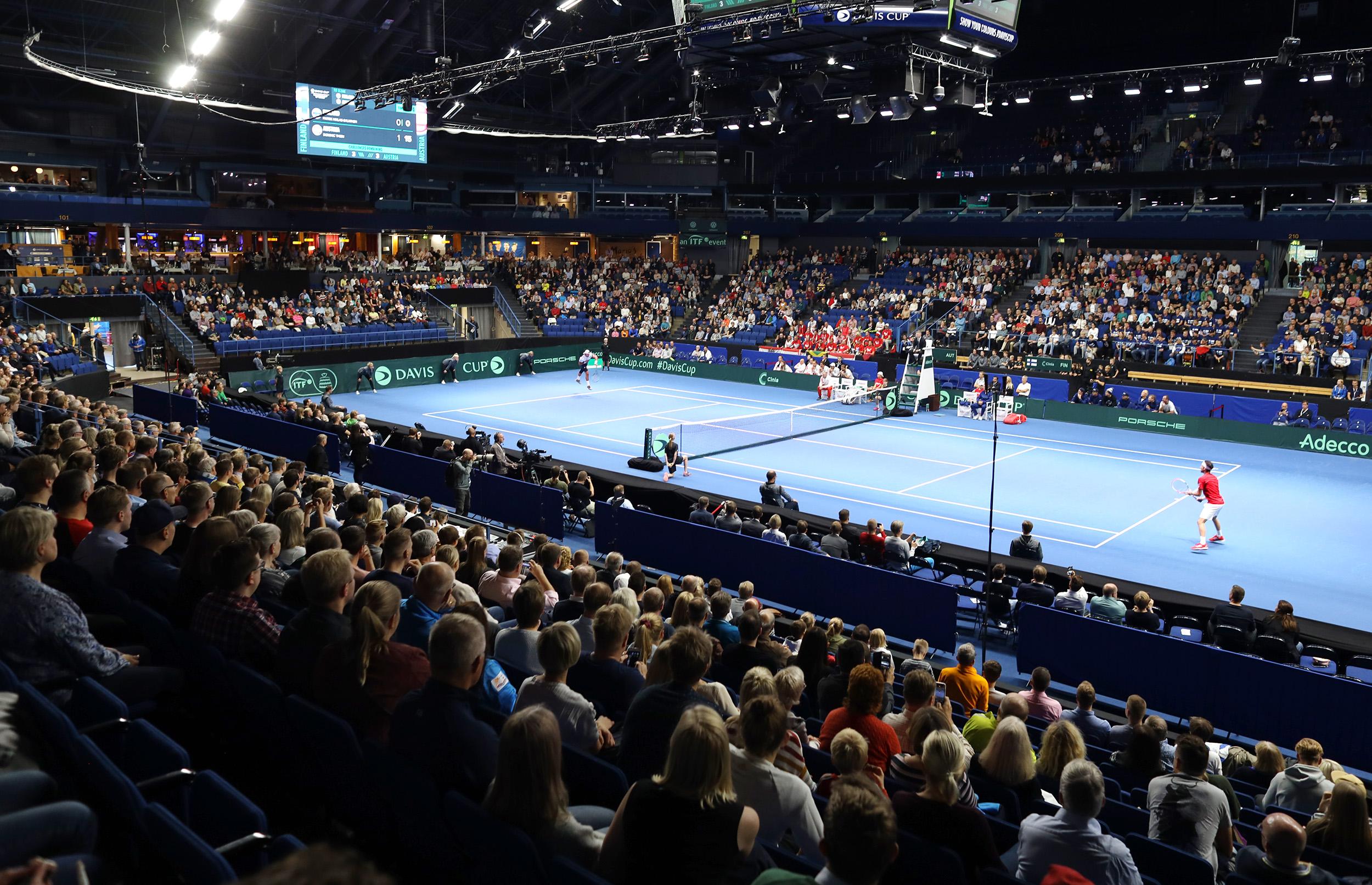 Coloro värjäsi Davis Cupin